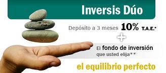 Depósito Inversis Dúo de Inversis Banco