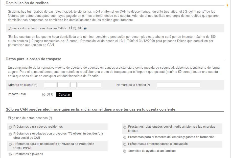 Deposito CAN de Caja Navarra paso 3