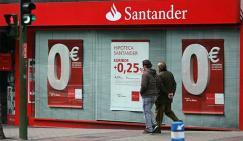 El Santander ofrecerá una moratoria para las hipotecas