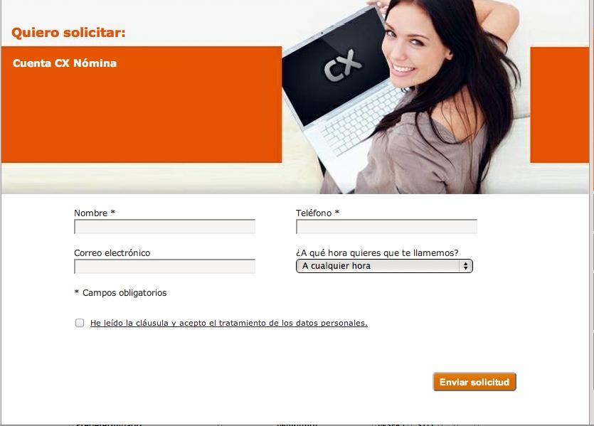 Cuenta cx n mina de catalunya caixa comparativa de cuentas for Cx catalunya caixa oficinas