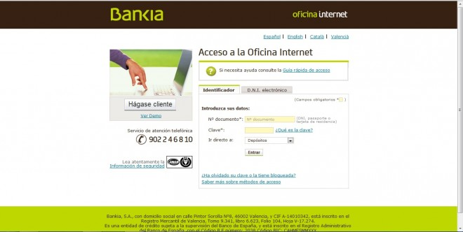 dep sito 12 m s internet de bankia comparativa de dep sitos