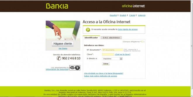 Dep sito 12 m s internet de bankia comparativa de dep sitos for Bankia oficina de internet
