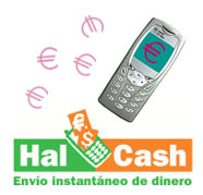 Enviar dinero a móviles mediante Hal-Cash