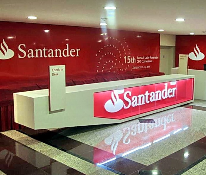 Banco santander mexicano comparativa de bancos for Oficinas banco santander murcia