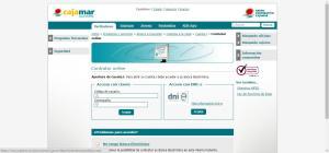 Proceso de contratación i cuenta de Cajamar 2