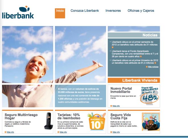 Dep sito 12 meses desde euros de liberbank for Oficinas caja extremadura