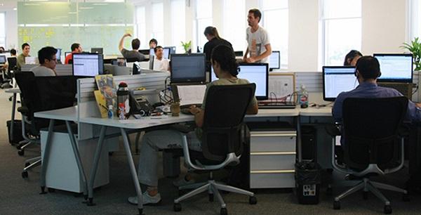 La oficina inteligente de kutxabank soy vasco for Jardin vertical oficina